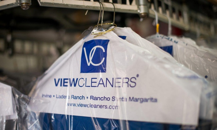 View Cleaners - Multiple Locations: Dry Cleaning at View Cleaners (50% Off). Two Options Available.