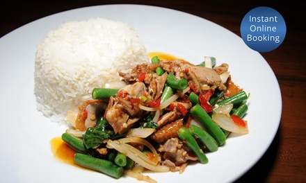 $29 for $60 to Spend on Thai Food and Drinks for up to Four People at JumboThai Haymarket