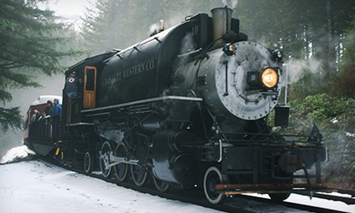 Chelatchie Prairie Railroad - Yacolt: Historic Diesel or Steam Train Ride for a Child, Youth, Adult, or Senior at Chelatchie Prairie Railroad (Half Off)