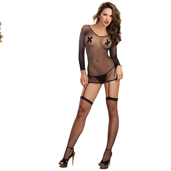 b477b45d95e Dreamgirl Garter Dresses and Bodystockings