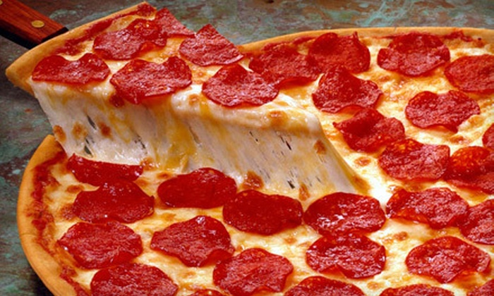 Auburn Pizza Lounge - Downtown: Pizza and Drinks at Auburn Pizza Lounge (Up to 55% Off). Two Options Available.
