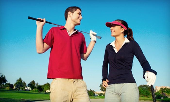 Sunset Landing Golf Course and Cedar Ridge Golf Course - Multiple Locations: 18-Hole Round of Golf with Cart Rental at Sunset Landing Golf Course or Cedar Ridge Golf Course (Up to 57% Off)