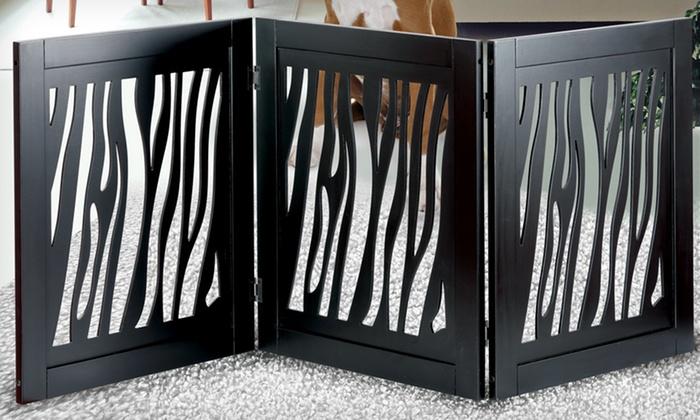 Zebra Pet Gate Zebra And Giraffe Pet Gates |