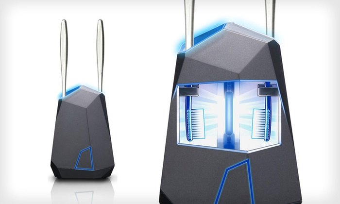 Violight Stealth UV Toothbrush Sanitizer: $24 for a Violight Stealth UV Toothbrush Sanitizer ($49.95 List Price). Free Shipping and Free Returns.