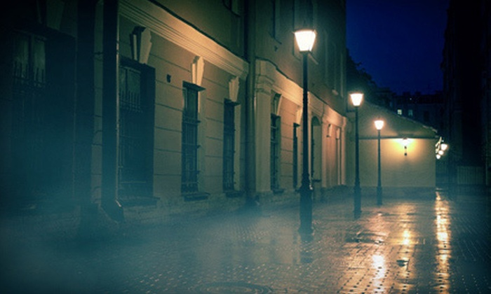 Haunted Houston Tours - Ribinson: Walking Ghost Tour or Three-Hour Ghost-Hunting Experience for Two or Four from Haunted Houston Tours (Up to 56% Off)