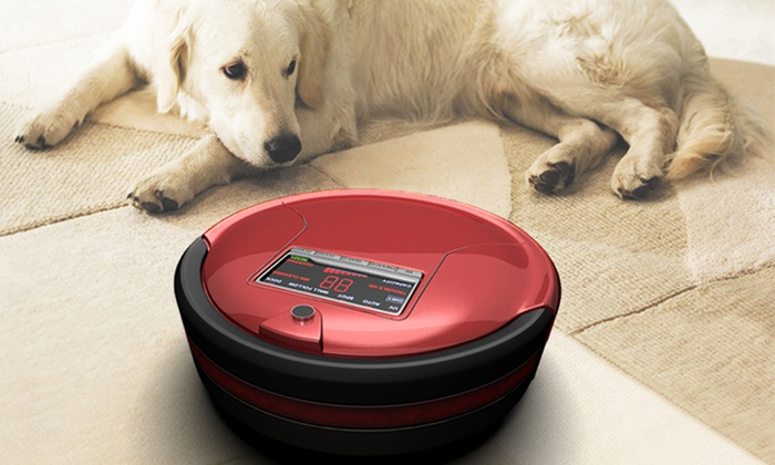 Robotic Vacuum Cleaner and Mop: bObsweep Standard or Pet-Hair Robotic Vacuum and Mop from $219.99–$239.99