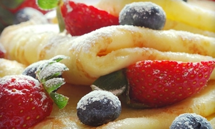 The Crepe Kitchen - Mid-Wilshire: Crepes, Sandwiches, and Salads at The Crepe Kitchen (Half Off). Two Options Available.