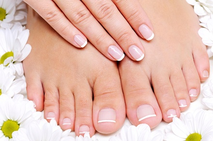 A Manicure and Pedicure from R&R Salon (49% Off)