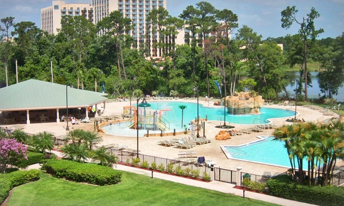 Wyndham Lake Buena Vista Resort - Lake Buena Vista, FL: Stay at Wyndham Lake Buena Vista Resort in Orlando, with Dates into April