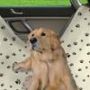 Water Resistant Pet Hammock Car Seat Cover