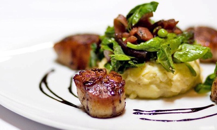 Locally Sourced Modern American Lunch or Dinner at Piacere Restaurant (Up to 52% Off). Four Options Available.