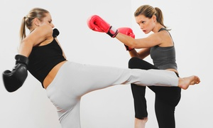 Apex Martial Arts: 10 Brazilian Jiu-Jitsu and Kickboxing Classes or One Month of Classes at Apex Martial Arts (Up to 92% Off)