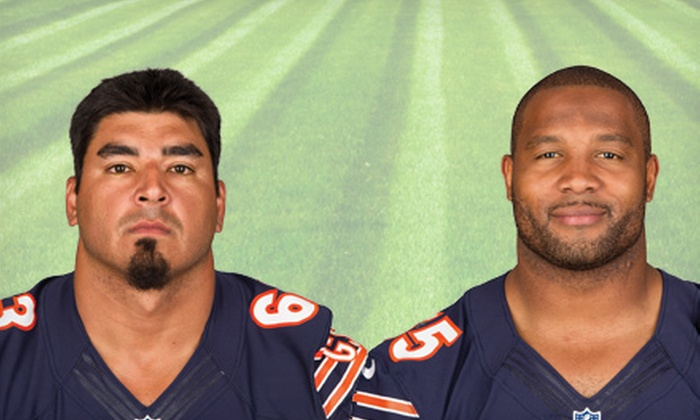 Rockford Park District presents Meet and Greet with Chicago Bears - Northwest: $37 for One Admission to a Meet and Greet with Chicago Bears on Saturday, May 18, at Rockford Park District ($75 Value)