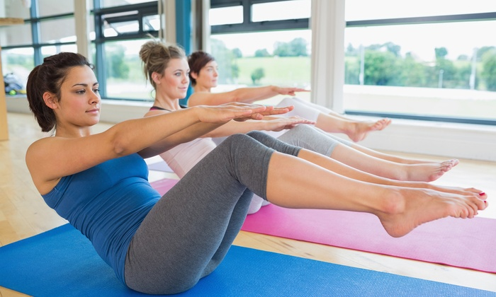 Yoga One - Multiple Locations: $35 for Five Mat Pilates Classes at Yoga One ($70 Value)