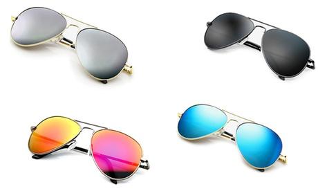 Set occhiali da aviatore. Vari colori disponibili