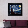 Vincent van Gogh's The Starry Night Framed Reproduction