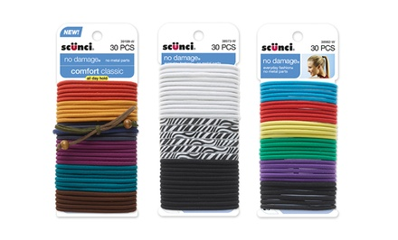 120-Pack of Scunci Elastic Hair Ties