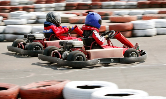 Funplex - Rosewood Manor: Go Karts, Video Games, and a Meal for Two, Four, Six, or Eight at Funplex (50% Off)