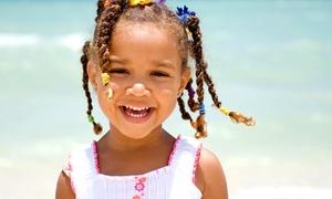 Mz Piggie Spa: Children's Braids or Basic Braids at Mz Piggie Spa (Up to 51% Off)