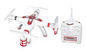 World Tech Toys Supernova Spy Quadcopter 4.5CH 2.4GHz RC Drone