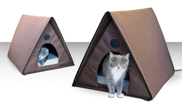 K&H Pet Products Multi-Kitty A-Frame Outdoor House: K&H Pet Products Multi-Kitty A-Frame Heated or Unheated Outdoor House. Free Returns.