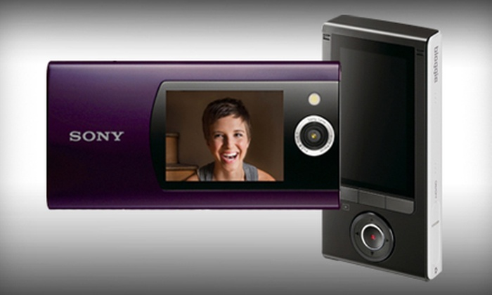 Sony Duo HD Camera and Camcorder: $89 for a Sony Bloggie Duo HD Camera and Camcorder in Violet or White. Shipping Included ($175.99 Total Value).