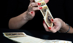 The Psychic Eye: 30-Minute Tarot Reading or 50-Minute Couples Tarot Reading at The Psychic Eye (Up to 65% Off)