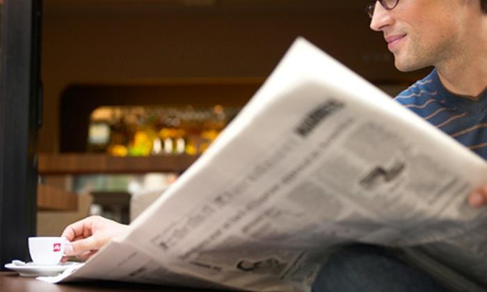 """Kansas City Star"": $19 for a 26-Week Sunday Subscription to the ""Kansas City Star"" ($76.96 Value)"