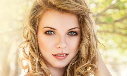 Haircut and Makeup at As the Crowe Flies (Up to 61% Off). Four Options Available.