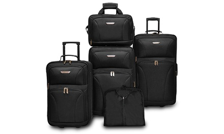 Traveler's Choice Versatile Luggage Set (5-Piece)