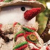 Crafted Christmas Snowman Sitabouts