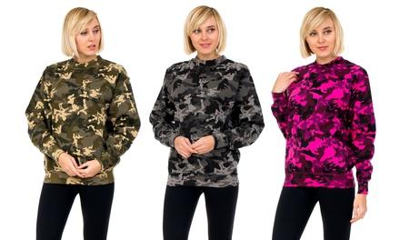 Women's Camouflage Sweatshirt