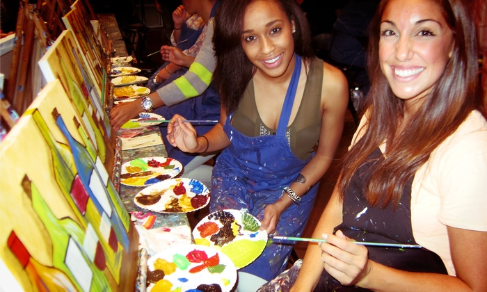 Pinot's Palette - Danville: $28 for a Three-Hour Painting Class at Pinot's Palette ($55 Value)