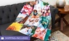 Up to 81% Off Personalized Photo Blankets from Collage.com