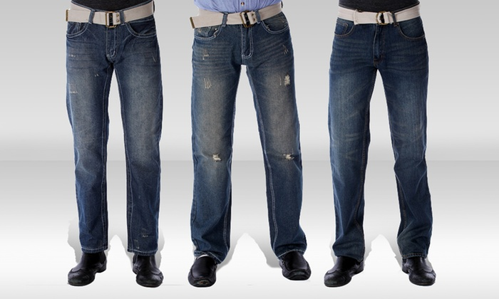 Red Snap Dark-Wash Men's Denim: Red Snap Dark-Wash Men's Denim. Multiple Styles Available. Free Shipping and Returns.