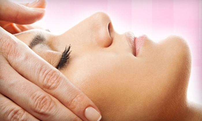 Hand & Stone Massage and Facial Spa - Multiple Locations: Swedish Massage, Facial, or Both at Hand & Stone Massage and Facial Spa (Up to 60% Off). Three Locations Available.