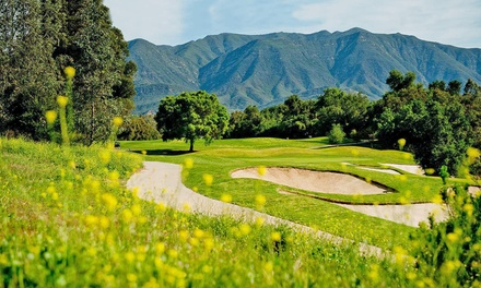 Round of Golf for One with Cart Rental, Range Balls, and Beer at Ojai Valley Inn & Spa (Up to 52% Off)
