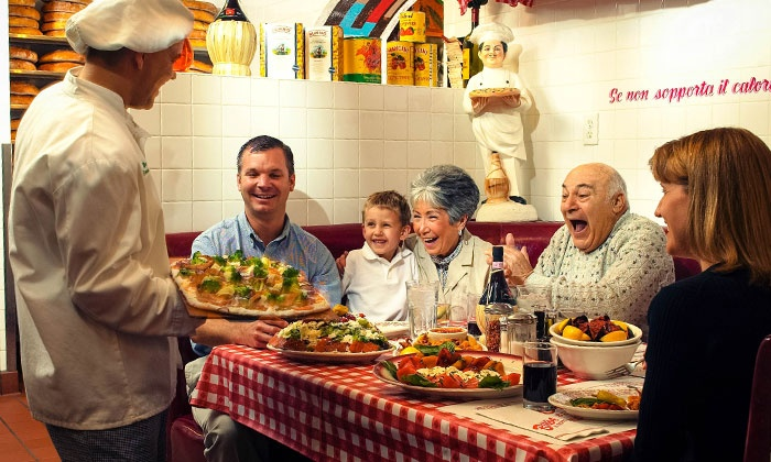 Buca di Beppo - Multiple Locations: $10 for $20 Worth of Family-Style Italian Cuisine at Buca di Beppo