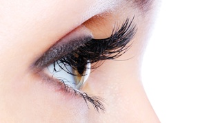 Full Set Of Silk Eyelash Extensions With An Optional Two-week Touchup At Nash