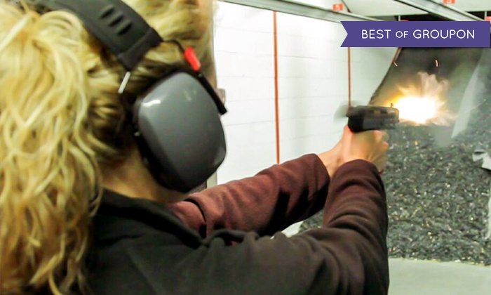 Ultimate Defense Firing Range and Training Center - Saint Peters: Basic or Premium Firing-Range Package for Two at Ultimate Defense Firing Range & Training Center (Up to 48% Off)