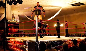 Enigma Pro Wrestling: Enigma Pro Wrestling Event at American Polish Club (Up to 40% Off). 12 Dates Available.