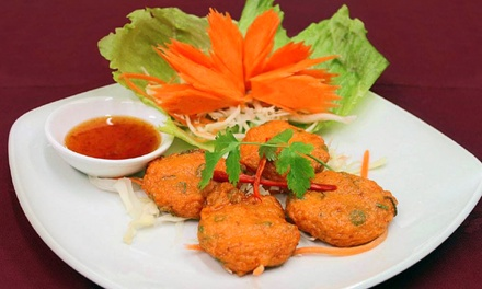 Two-Course Thai Meal for Two or Four at Chang Siam Thai Restaurant (Up to 50% Off)