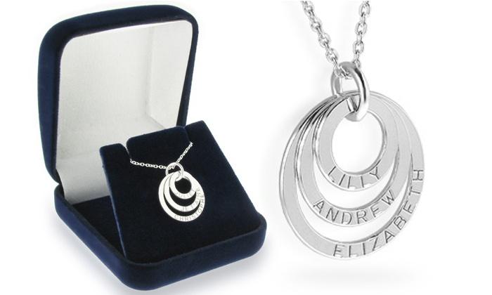 collier prenom 3 anneaux