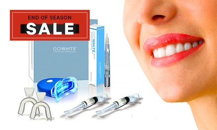 .95 for GoWhite Teeth Whitening Kits or Pens Don't Pay up to $977.60