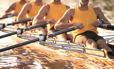 6-Week Rowing Class or Rowing-Fitness Class at Three Rivers Rowing Association (50% Off). Six Options Available.