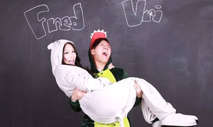 The Selfie Room: Photo Session for Two, Four, or Eight, Including USB Stick of Images at The Selfie Room (Up to 53% Off)