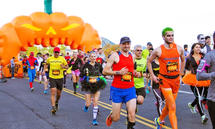 The Haunted Half - Gilbert: 5K or Half-Marathon Entry for One at the The Haunted Half on October 31 (Up to 37% Off)