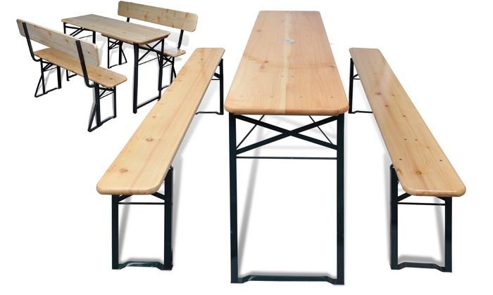 De Brasserie De Brasserie Table PliableGroupon Table PliableGroupon kPXZOiu