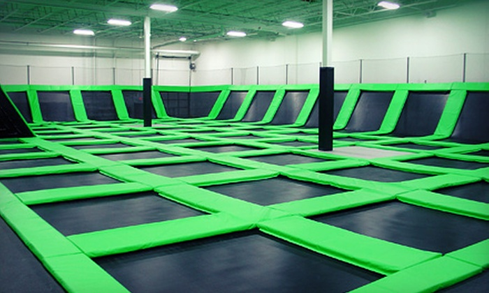 Zero Gravity - Mounds View: $12 for One-Hour Bounce Passes for Two at Zero Gravity ($24 Value)