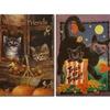 "Fall Themed 28""x40"" House Flags"